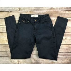 Denim - Zara Jeans Stretchy Skinny Leggings Charcoal Navy